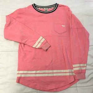 Victoria's Secret PINK Long-Sleeve Campus Sweater